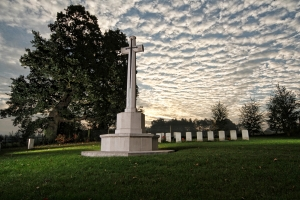 Hatfield War Cemetery.
